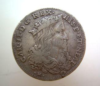 Неаполь. Італія 20 гран. 1699 Карл ІІ