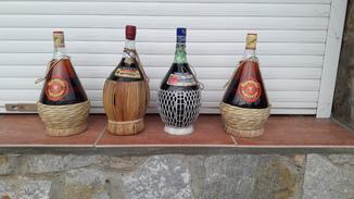 Вино Италии 1970г. 4 бутылки по 1.5 литра
