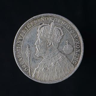 2 Кроны 1897 25 Лет Правления, Швеция