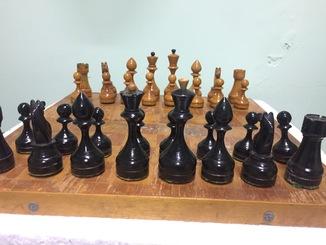 Шахматы с утяжелителем