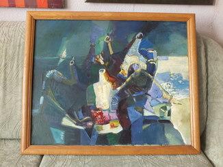 """Николай Мироненко """"Натюрморт"""", холст, масло, 60х70, 1995 год., 1"""