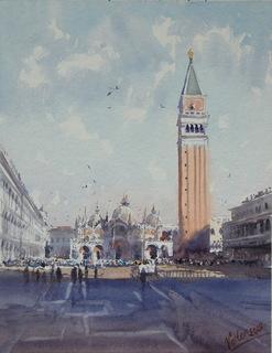 """Картина """"Венеція, сб. Святого Марка"""". Микитенко Віктор"""