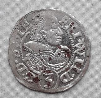 Княжество Тешинское (Силезия) Фридриг Вильгельм 3 крейцера