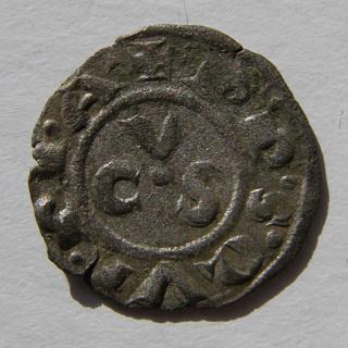 Италия, Республика Анкона, денаро, 13 век.