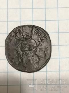 Сербская монета Стефана Уроша II Милутина (1282—1321