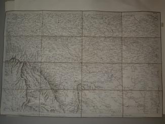 1810-е Карта центральной Украины  82х53