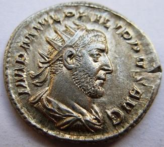 Cеребряный антониниан, PHILIP I Arab (247 г.н.э.)
