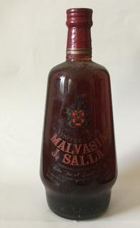 """Десертне вино,,Malvasia-J.Salla"""".Іспанія   1970s"""