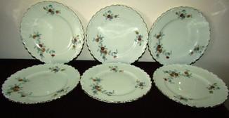 Антикварные тарелки костяной фарфор Steinmann Tiefenfurt Силезия 1919- 1938 Германия