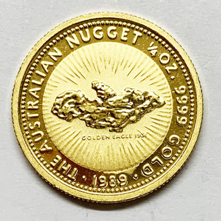 25 долларов 1989 года. Австралия. (1/4 oz)