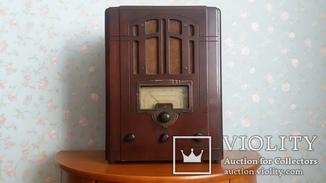 Радиоприемник  6Н-1  (модель 1937 г.)  СССР.