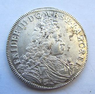 2/3 Талера Бранденбург 1693 р.