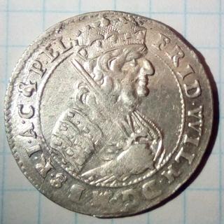 Орт  PRUSSIA 1685  Фридрих Вильгельм