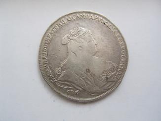 Рубль 1739 г.