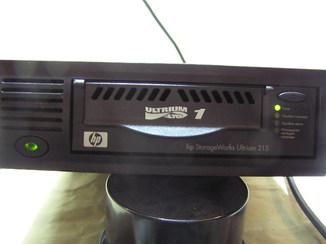 Внешний ленточный накопитель HP Ultrium 215 Q1545A.