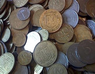 Монеты с копилки 12 кг