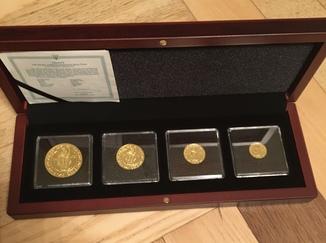 Набор монет Оранта..