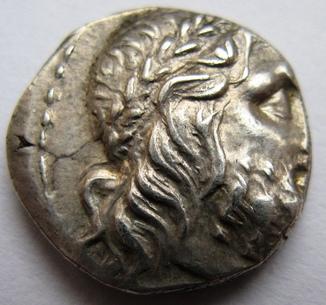 Греция, Конфедерация BOEOTIA,  г. Thebes тяжелая серебряная драхма (196-146 гг. до н.э.)