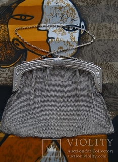 Театральная сумочка, серебро 935