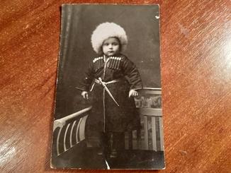 Фотооткрытка мини джигит. Черкассы