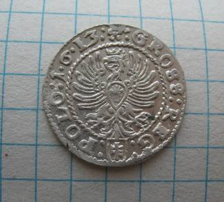 Грош 1613 года Краков