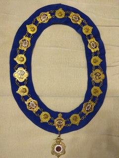 Винтажный ошейник Старинного Королевского Ордена Буйволов
