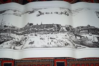 Панорама старой Одессы.(88 на 35 см).Под рамку.№9