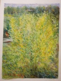 Яскрава осінь (пастель)