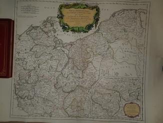 1751 Карта Померании и Бранденбурга