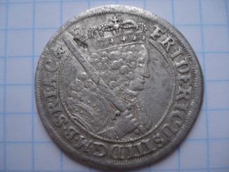 Орт 1699р. Фрідріх ІІІ. Прусія