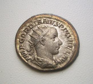 Император Гордиан III, антониниан *APOLLO