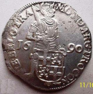 Срібний дукат 1690 р. Утрехт Нідерланди