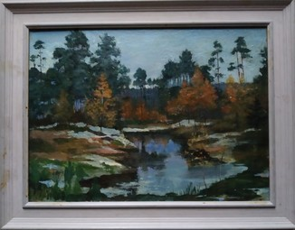 """""""Пейзаж"""" к.м. Борис Козаченко (1928-1006)"""