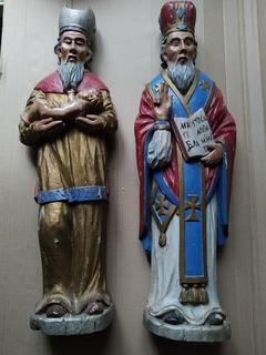 Церковные полихромные скульптуры (греко-католики)