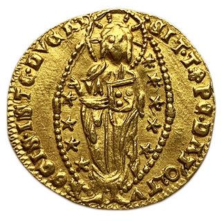 Дукат (цехин) Андреа Контарини 1368-1382