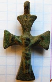 Хрестик (бронза)