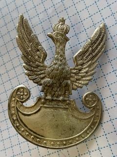 Кокарда. Орел с короной / Польша