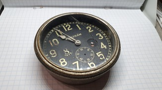 Waltham Watch CO. 8 Days 15 Jewels. ADJUSTED