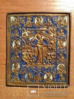 Икона «Всех скорбящих радости» 19 век