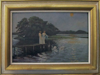 «Девушки на пристани», Костенко, царская Россия до 1917 г.
