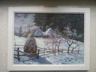 Картина художника Харламов