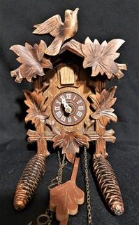 Настенные часы с кукушкой Schwarzwald Germany