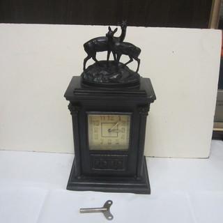 Часы с боем, 1957 г.в.  Корпус Касли, 1956 г. (вес 10 кг, 22х15х40 см)