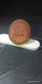 Прикладная печать 18век, камень сердолик
