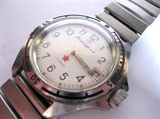 Часы Командирские Восток на ходу