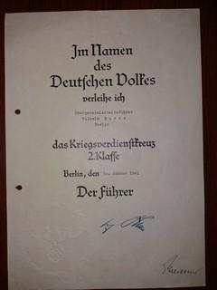 [Медалі у Вікіпедії] Контрадмірал ІІІ Рейха Wilhelm Buße нагородні документи