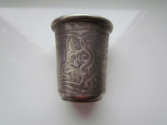 Стопка стаканчик серебро 84 проба