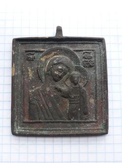 Икона Нательная Богородица