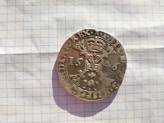 Талер Патагон 1646 года.