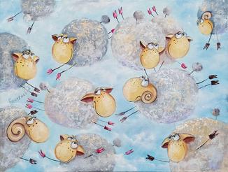 """""""Парящие овечки"""""""